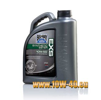 10w-50 EXS Synthetic Ester 4T Engine Oil - 4 Liter