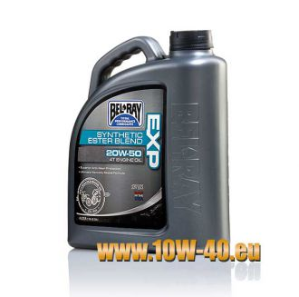 15w-50 EXP Synthetic Ester Blend 4T Engine Oil - 4 Liter