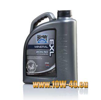 20w-50 EXL Mineral 4T Engine Oil - 4 Liter