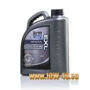 Bel Ray 10w-40 EXL Mineral 4T Engine Oil - 4 Liter